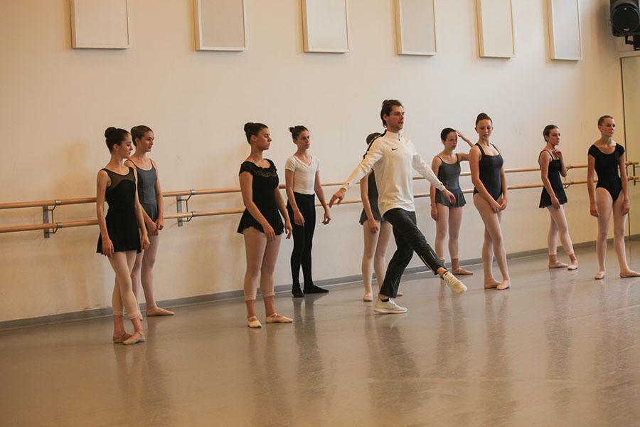 Мастер-класс по искусству балета