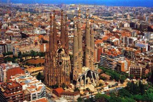 Eixample - район Эшампле в Барселоне