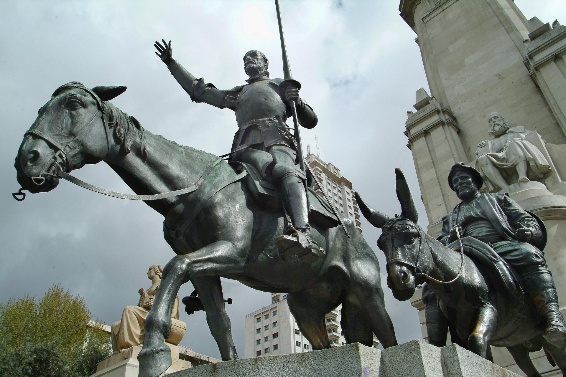 Во многих местах Испании остался след Дон Кихота