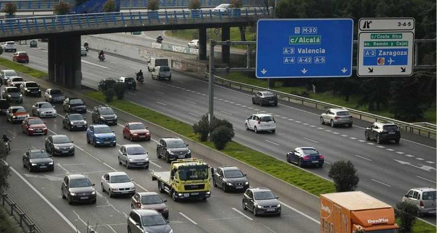 Мадрид запретил заезд вцентр города половине машин