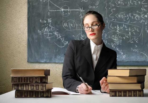 Учительница мать