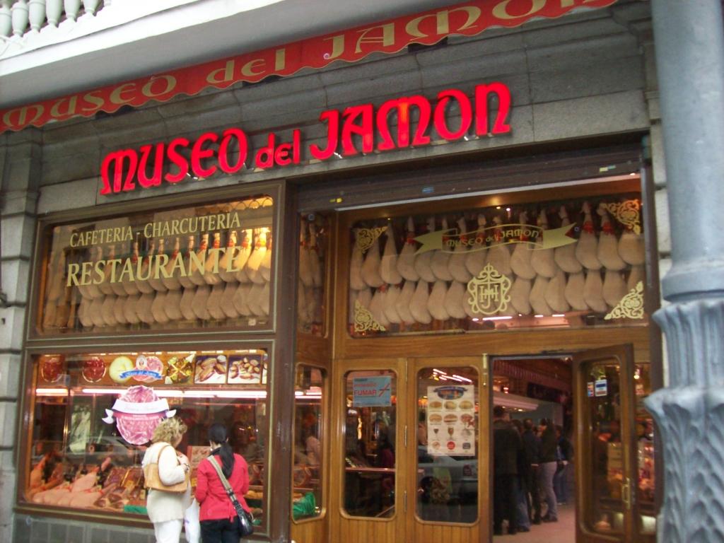 Image result for museos del jamon madrid spain cuantos