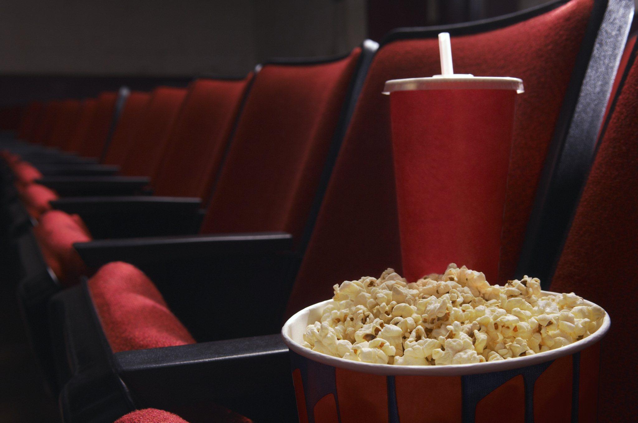 Картинки с попкорном и кинотеатром, прикольные телефон для