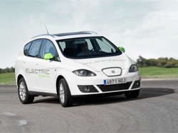 Прототип электромобиля SEAT Altea XL Electric Ecomotive