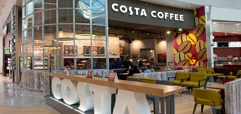 Costa Coffee планирует раскинуть сеть своих кофеен в Испании