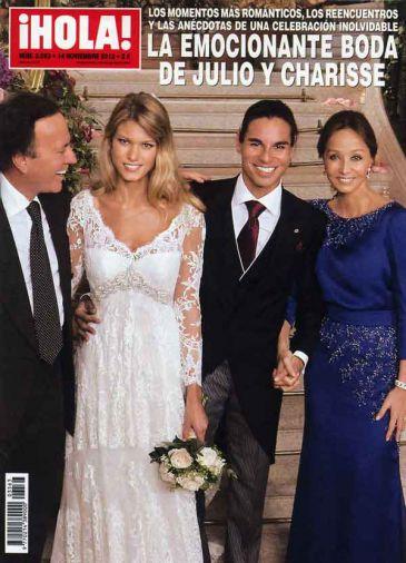 Хулио Иглесиас-младший женился на бельгийской модели Шарисс ...