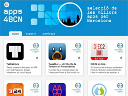 Приложения для Барселоны на Apps4bcn.cat