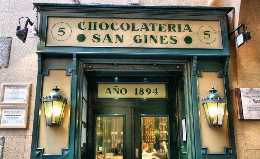 Легендарная столичная шоколадница San Gines