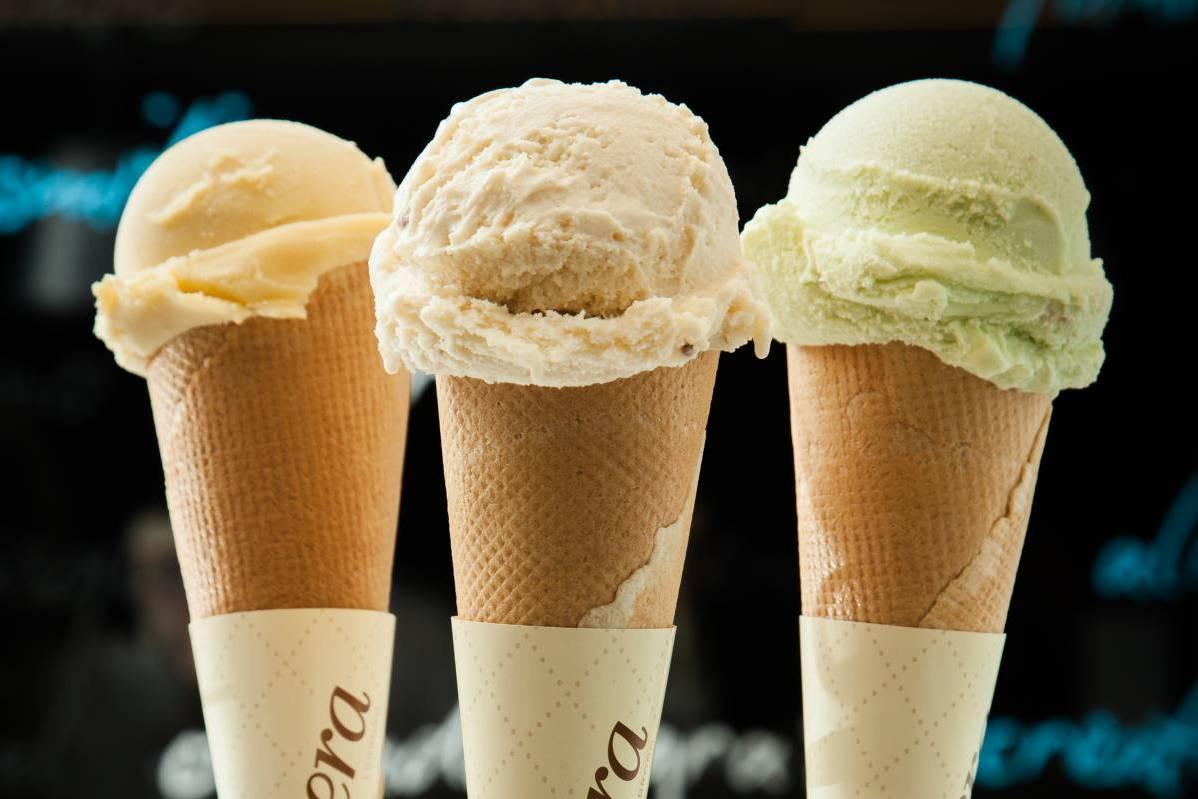 темной предпочтения по видам мороженого фото стоит при