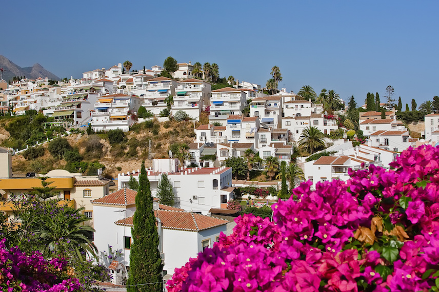 Фото испании в цветах