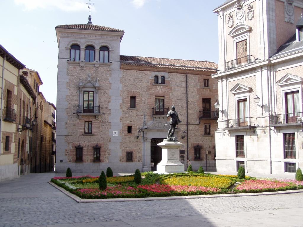 Casa de cisneros en madrid curiosidades en espa a - Canguro en casa madrid ...