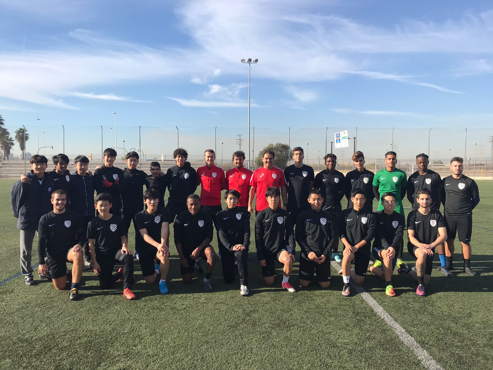 Академия футбола «Spanish pro football Academy» в Испании