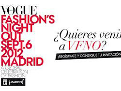 Ночь моды Vogue Fashion's Night Out в Мадриде