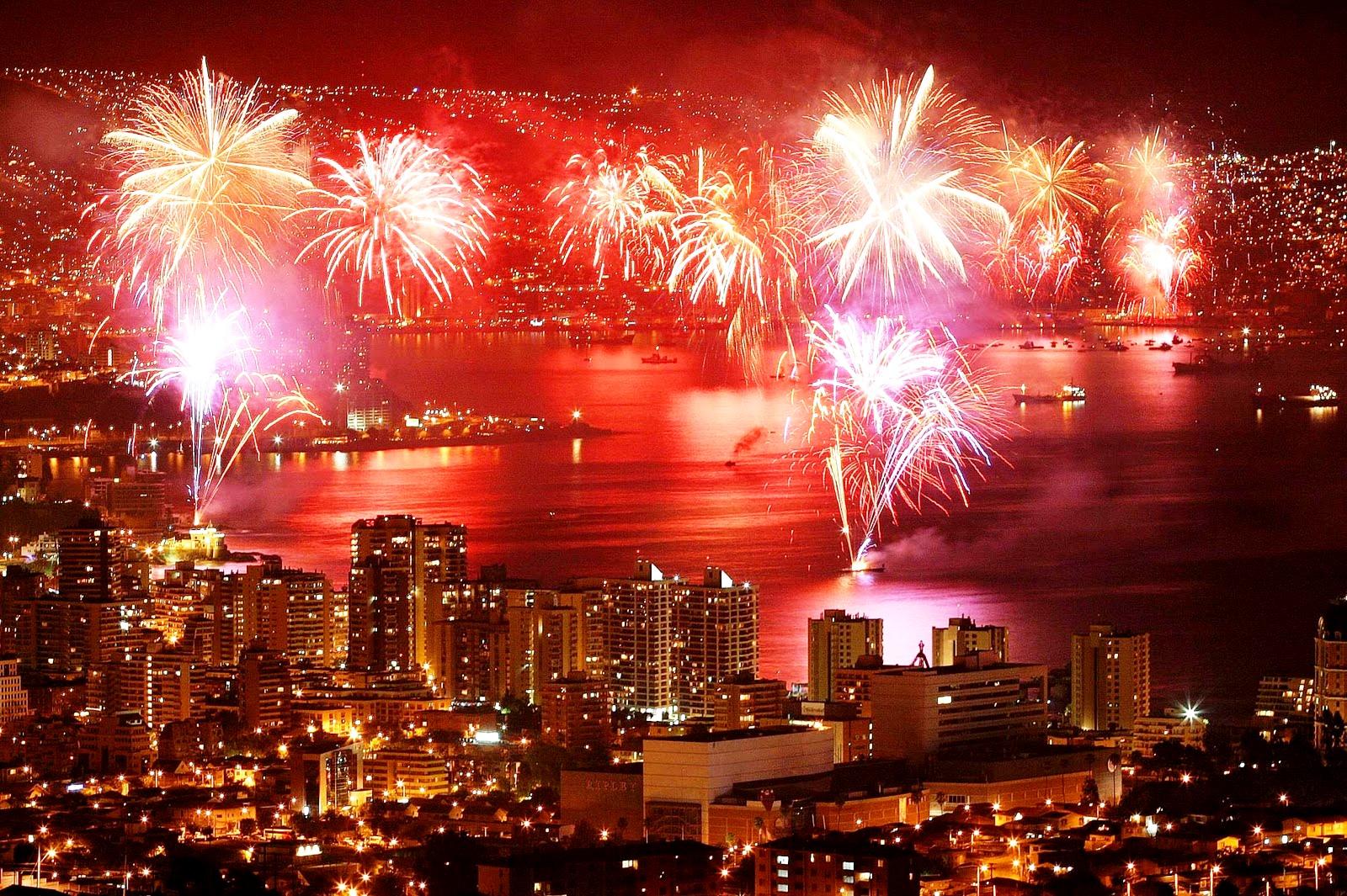 New Years Eve Fireworks San Francisco