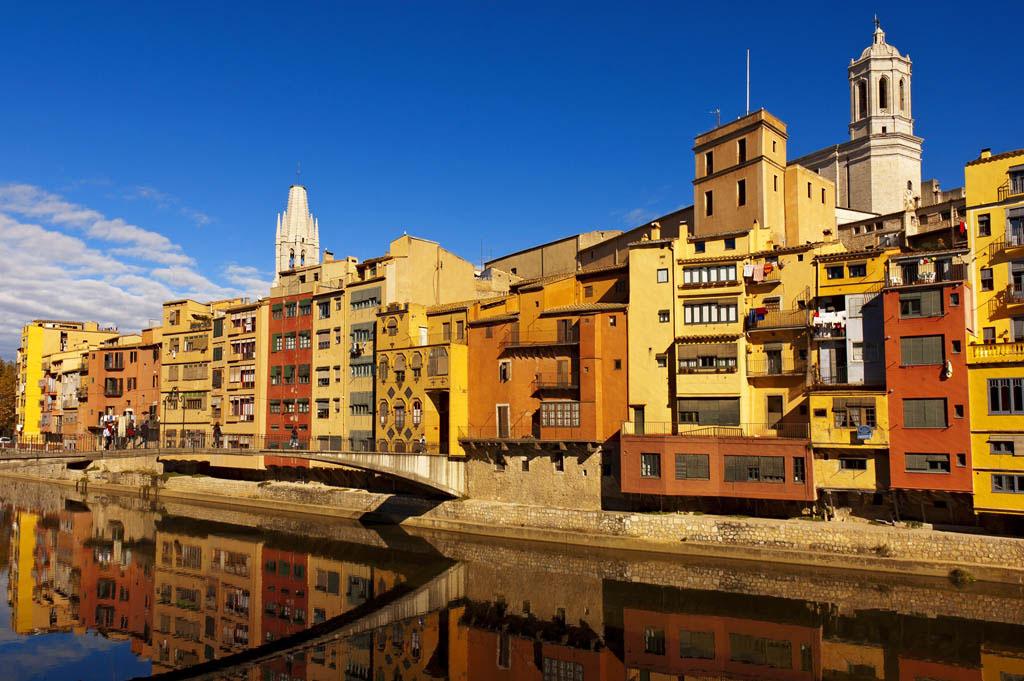 Жирона Испания Достопримечательности с описанием карта города провинция что посмотреть за день