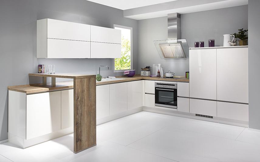 Awesome Diseño De Cocinas Pequeñas En Forma De L Images - Casas ...
