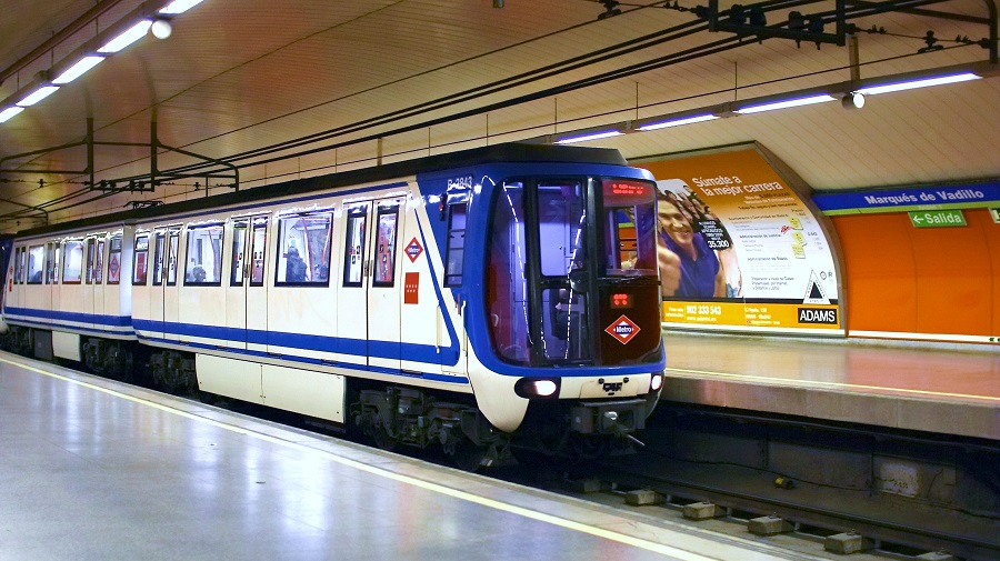 Полное  4G-покрытие будет обеспечено в метро Мадрида к 2020 году