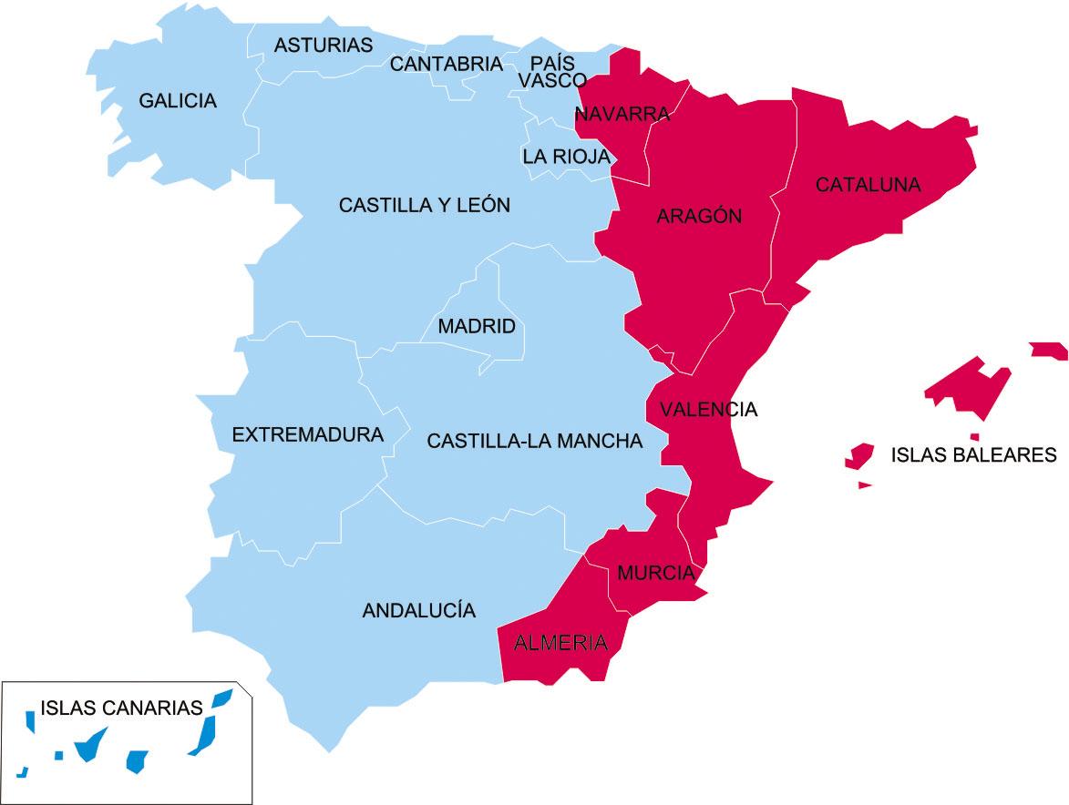 ожидать скором внутренние территориальные проблемы испании ответе большинстве