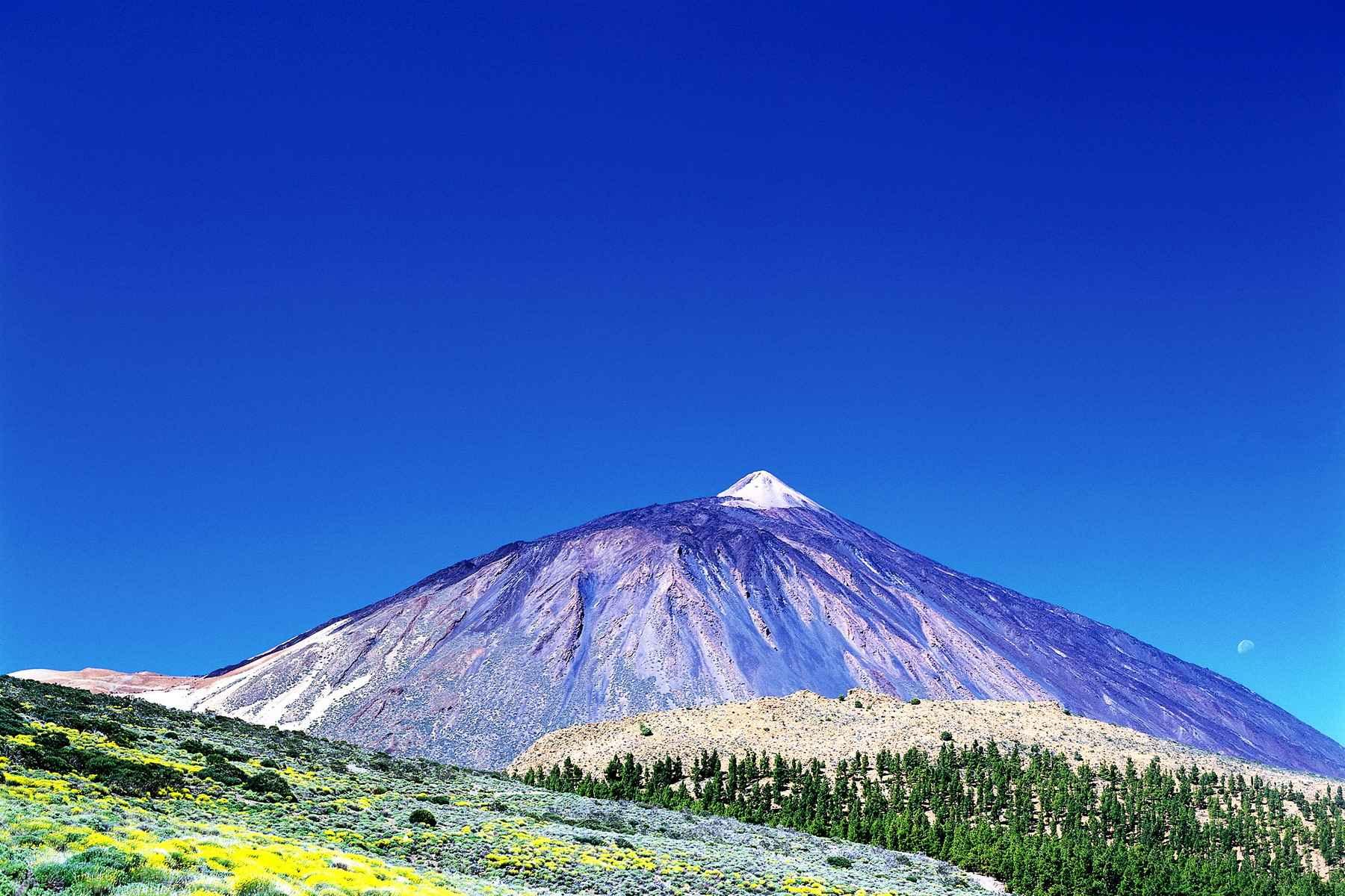 Вулкан Тейде, Тенерифе, Испания