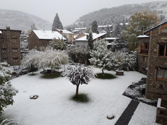 В Испании выпал первый снег