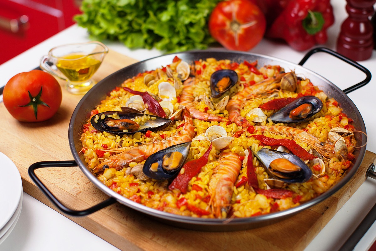 Paella for Ideas cocina rapida