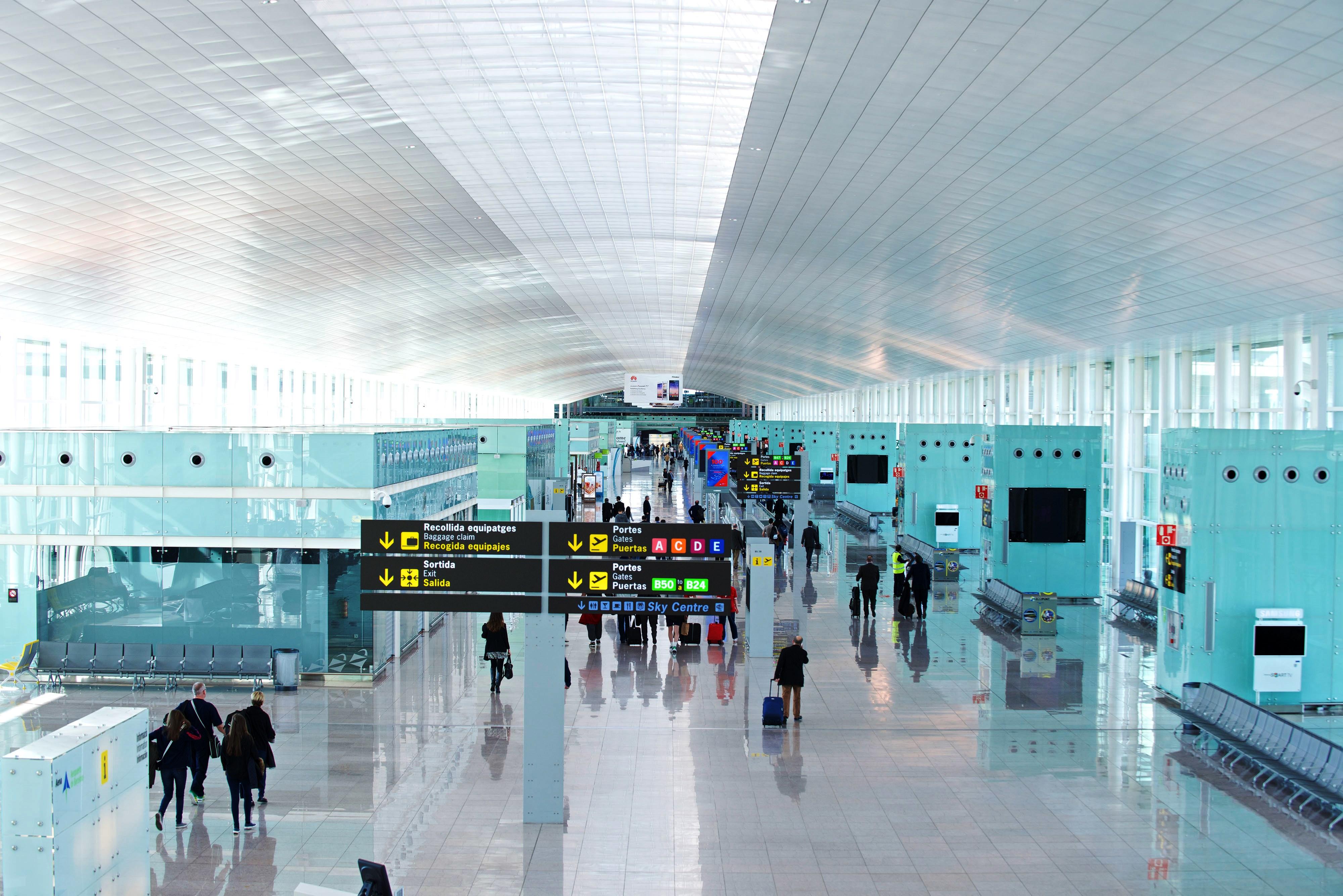 Возврат такс-фри в аэропорте Барселоны