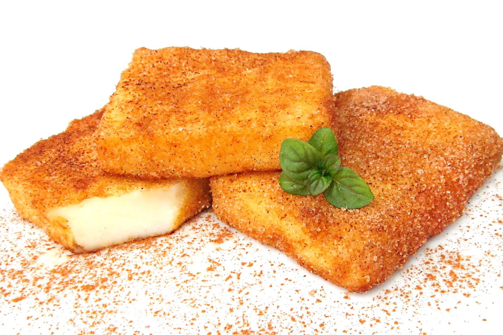 Национальная кухня Андорры: десерт «лече фритта» (исп. leche frita)