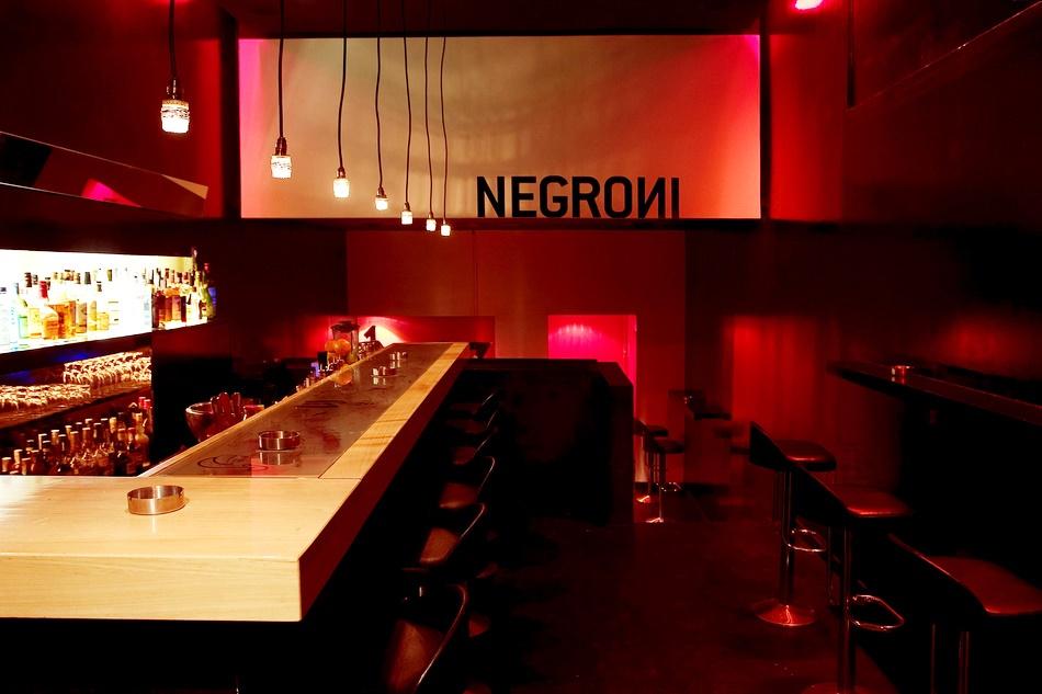 Лучшие коктейльные бары Барселоны. Negroni