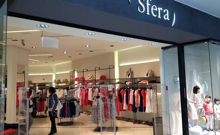afa7db07d8cf Sfera» открывает свой онлайн-магазин. Испания по-русски - все о ...