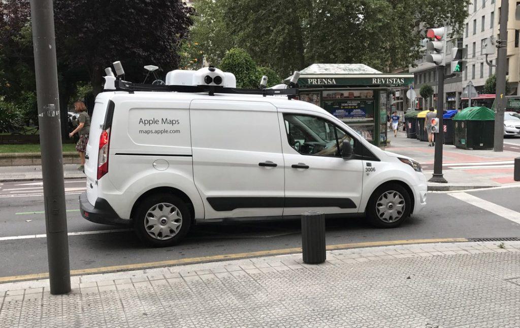 Фургоны Apple Maps появились на улицах испанских городов ...