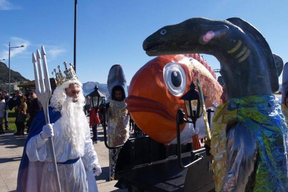 Карнавал в Сантонье (Кантабрия)