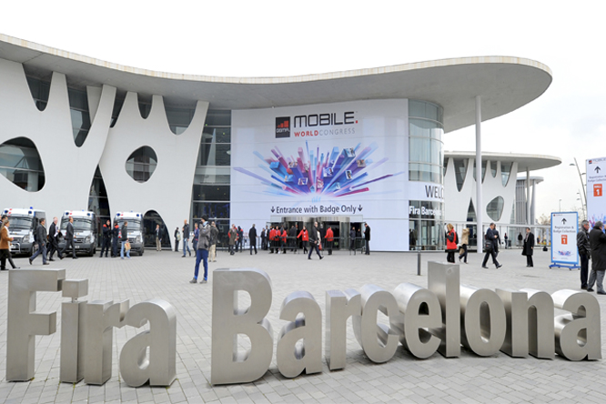 Выставка Mobile World Congress 2014 в Барселоне