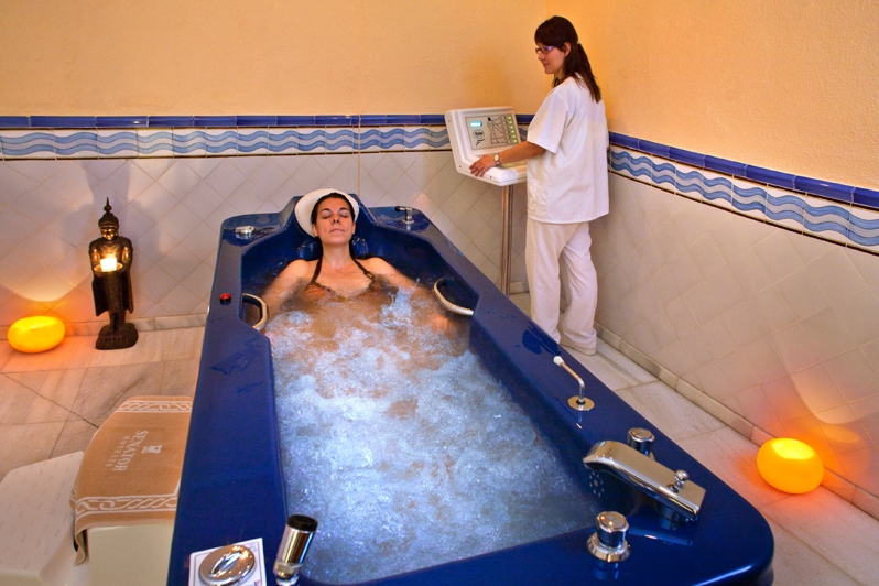 Спа в Барселоне Acquaplaya Spa & Wellness