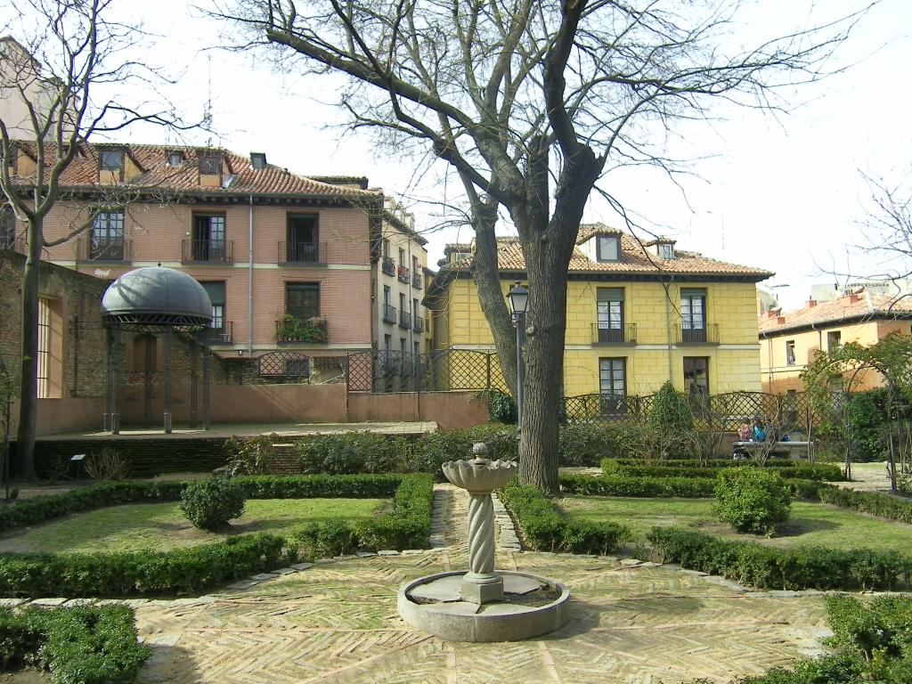 Jardin del principe de anglona en madrid jardines en espa a for El jardin del principe