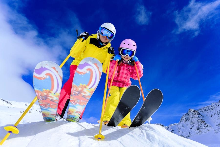 Хорошего катания на лыжах открытки, днем