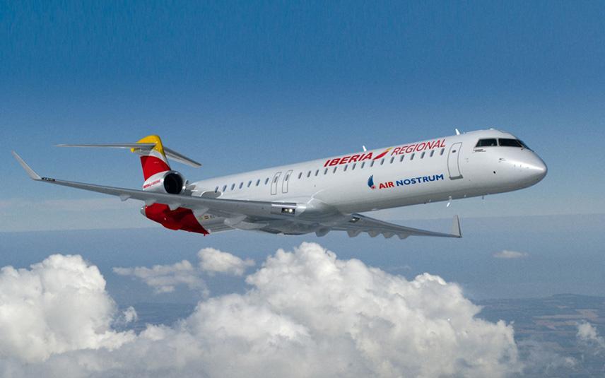 Air Nostrum продает билеты на внутренние перелеты за 66 евро