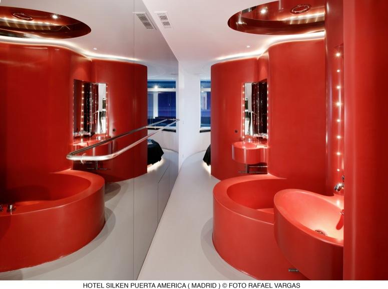 Suite senior jean nouvel silken puerta am rica madrid en for Hotel silken puerta america plantas