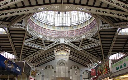 Центральный рынок Валенсии отмечает столетие