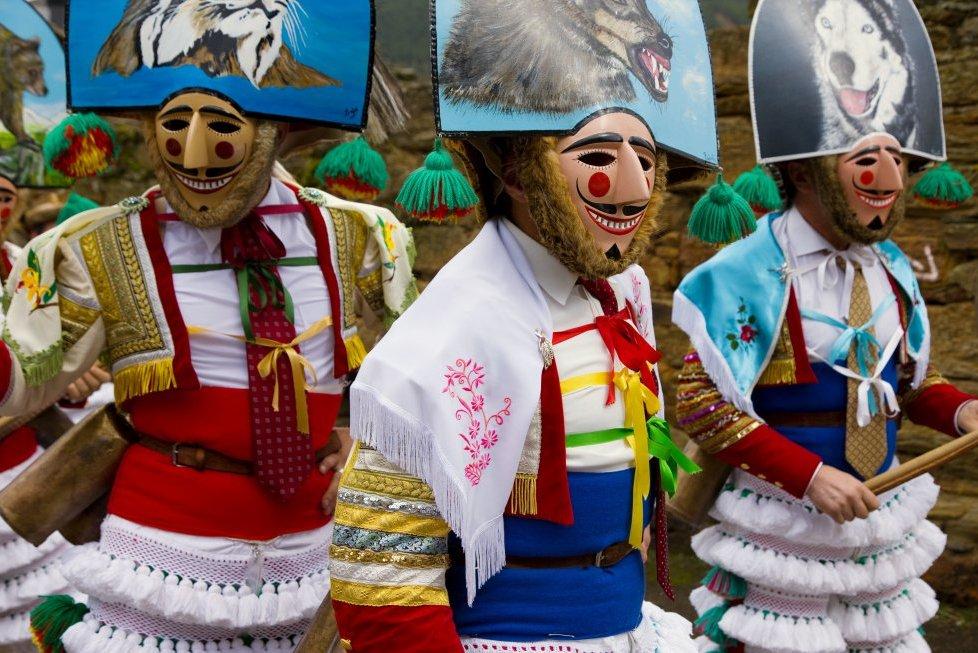 Карнавал в Ласе (Оренсе, Галисия)