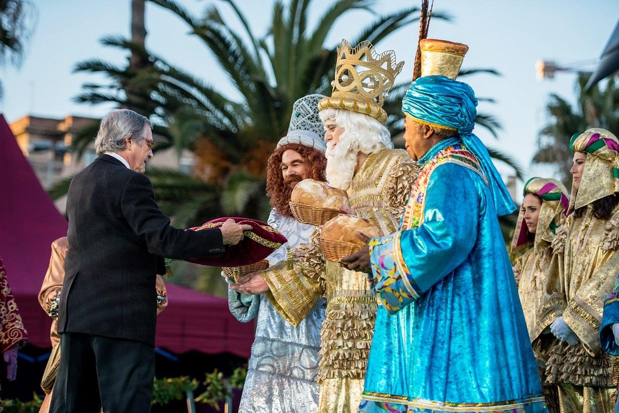 Праздник волхвов в Барселоне