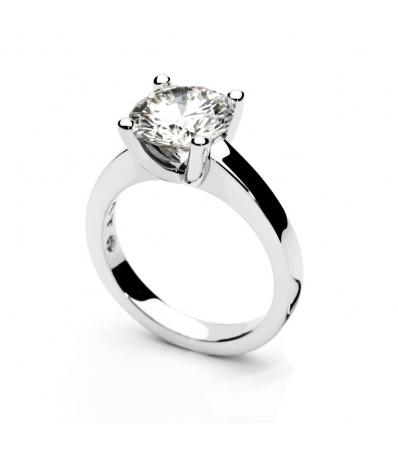 Кольцо из белого золота с бриллиантом - Rabat в г. Barcelona ... 82352bd304703