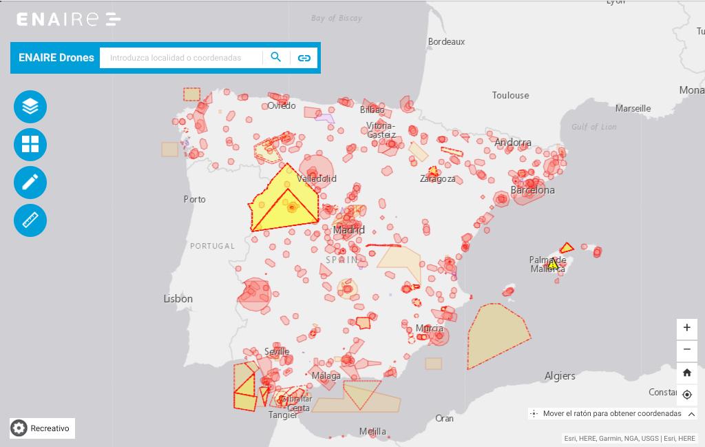 В Испании разработали веб-приложение для безопасного использования дронов