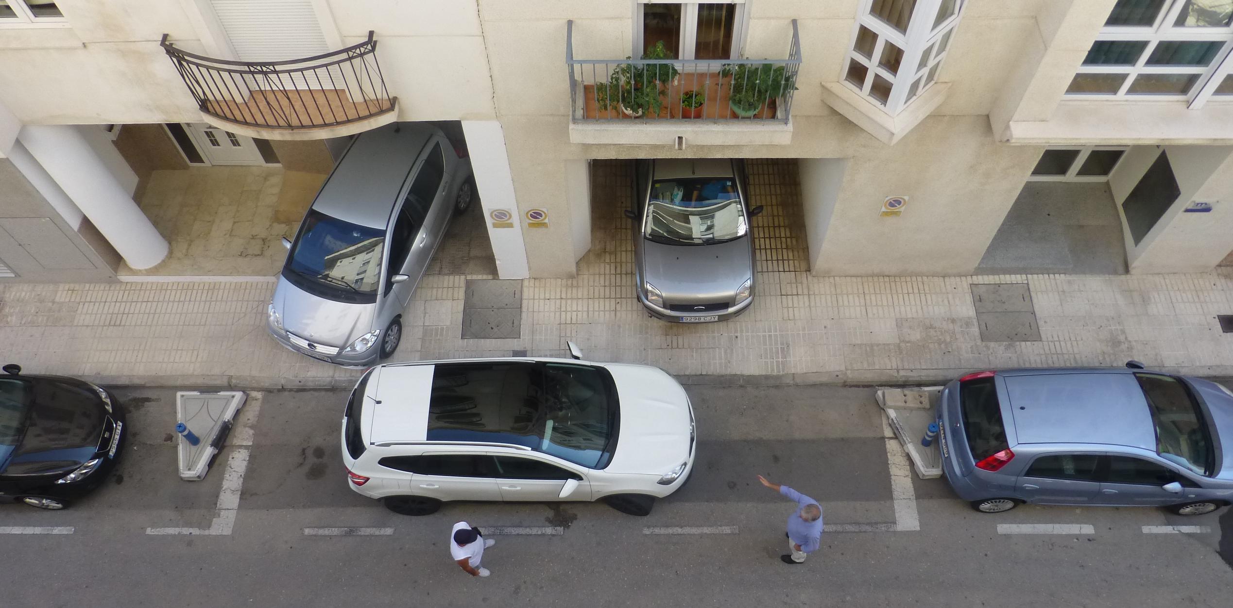 Парковка в каменном веке