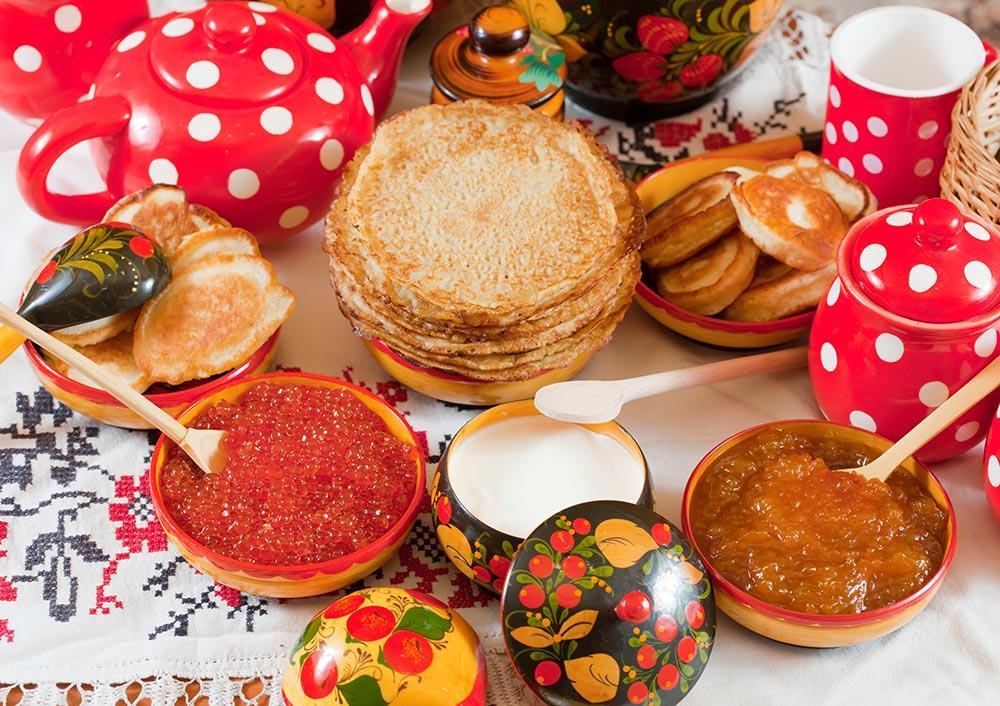 Znalezione obrazy dla zapytania Русская кухня