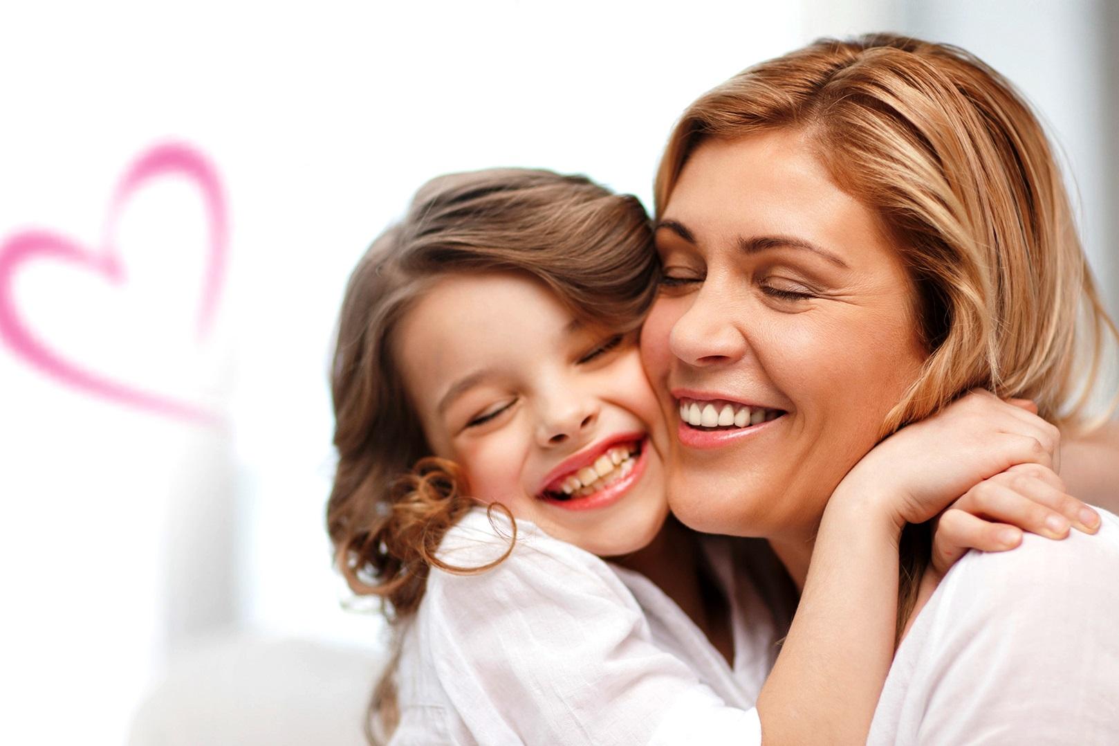 Мама с ребенком в картинках, картинки
