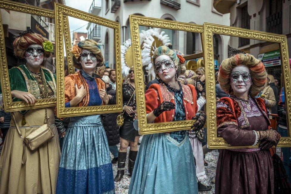 Карнавал в Ситжесе (Каталония)