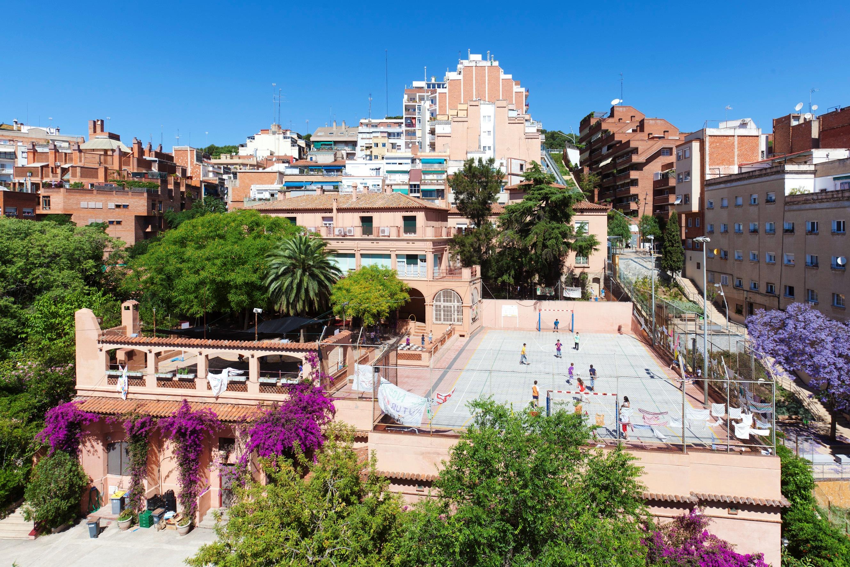 Horta-Guinardó - район Орта Гинардо в Барселоне