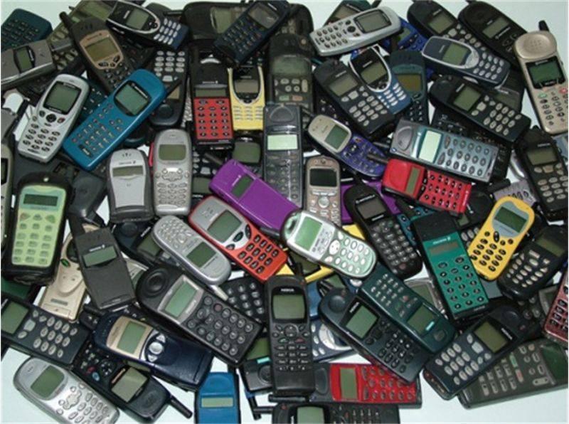 Мобильные телефоны в Испании, переработка мусора, переработка техники, мусо