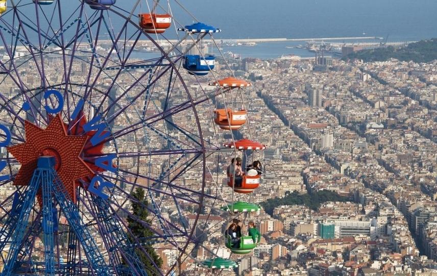 В Барселону привезут аттракционы со всего мира