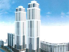 la empresa se dispone a construir en el complejo residencial que se convertir en el edificio ms alto